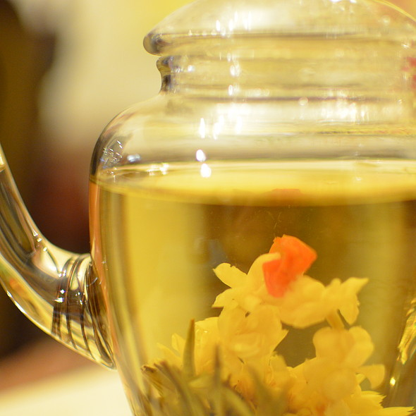 Blooming Tea @ Caffe Bom