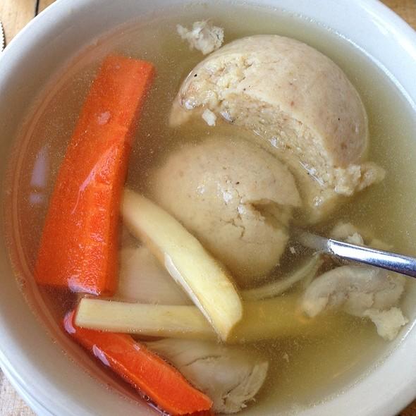 Matzoh Ball Soup @ Mile End Delicatessen