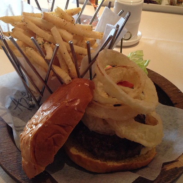 Kobe Beef Burger - Azie on Main, Villanova, PA
