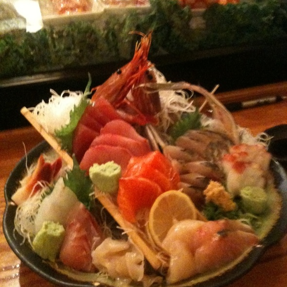 Omakase Sashimi @ Sushi House Hayakawa