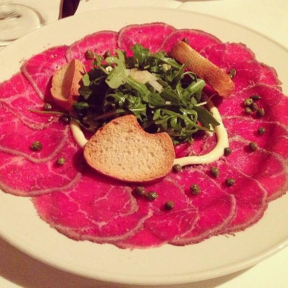 Beef Carpaccio @ Blossom