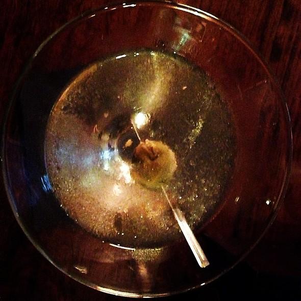 Bacon Pimento Cheese Stuffed Olive Martini @ The Macintosh