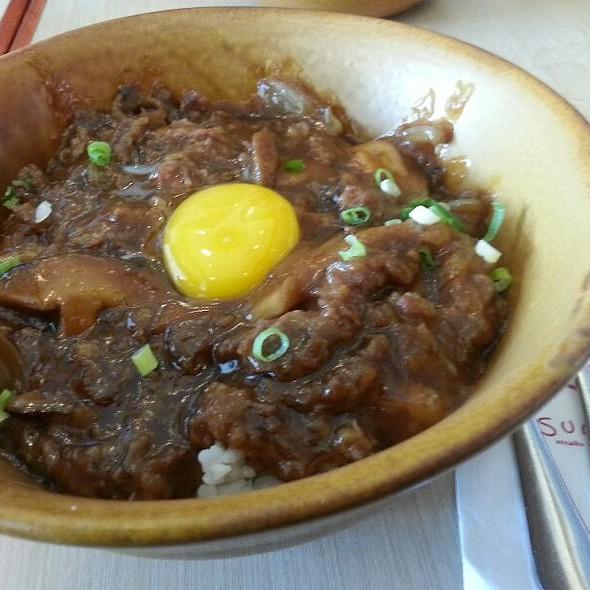 Beef Gyudon @ Sumo Sam