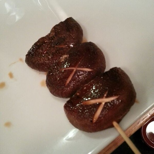 Shiitake Mushroom Yakitori - Sakura House, Los Angeles, CA