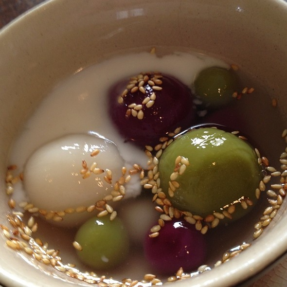 Sticky Rice Balls In Coconut Milk