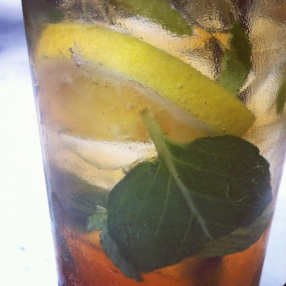 Sweet Tea Mojito - 82 Queen, Charleston, SC