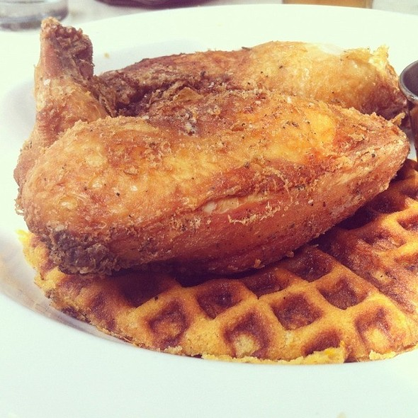 Fried Chicken and Waffles - 82 Queen, Charleston, SC