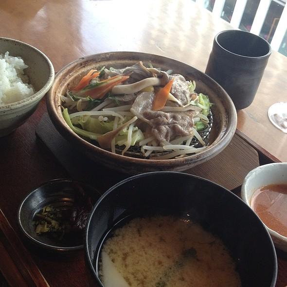 タジン定食 @ 響 新宿店