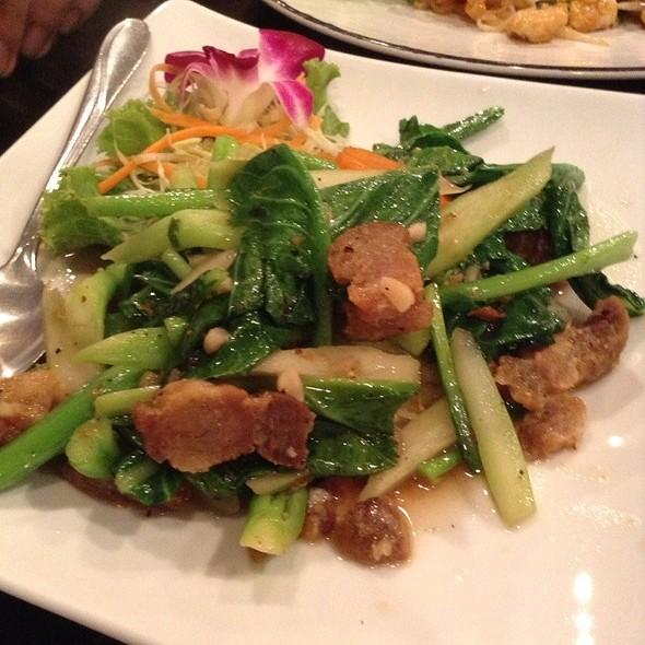 Stir Fried Vegetables And Pork @ B Resto