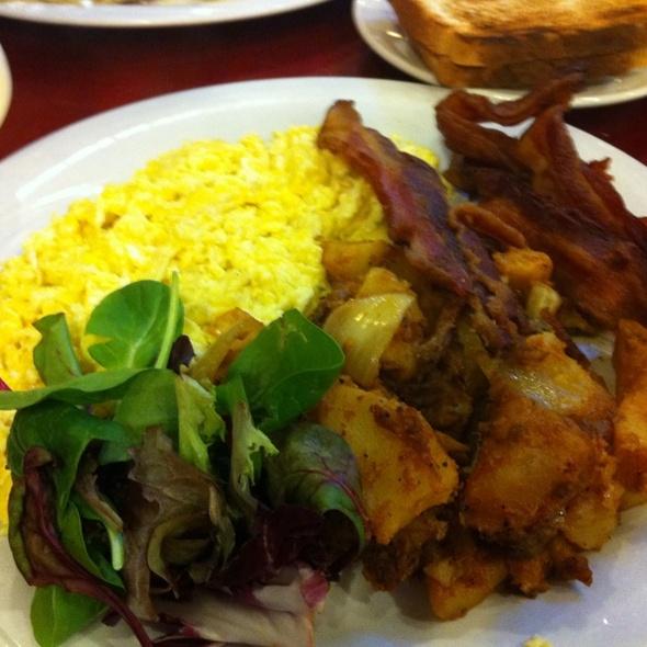 Breakfast Eggs And Bacon @ Benash Delicatessen