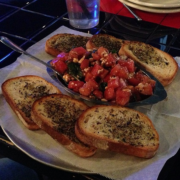 This was ! @ Blue Moon Pizza