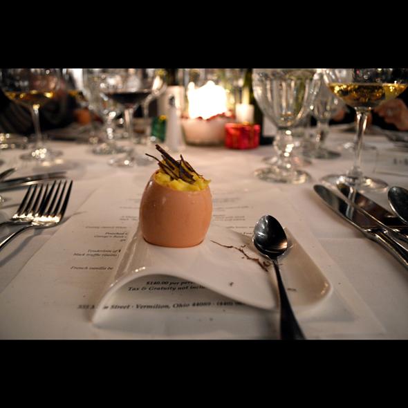 Scrambled Eggs & Truffles - Chez Francois - Vermilion, Vermilion, OH