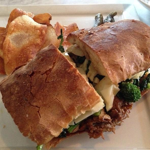 Braised Pork Sandwich With Rapini And Provolone @ Savona/ Bar Savona