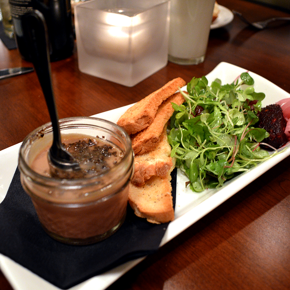 Chicken Liver Mousse - J Bistro Downtown, Sandusky, OH