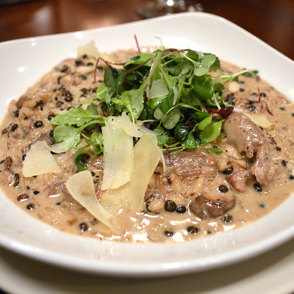 Mushroom Risotto With Duck Confit - J Bistro Downtown, Sandusky, OH