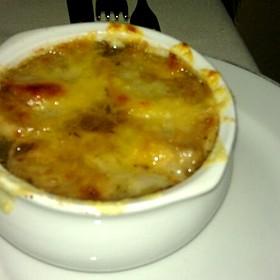 Onion Soup - Trois Cent Onze, San Juan, PR