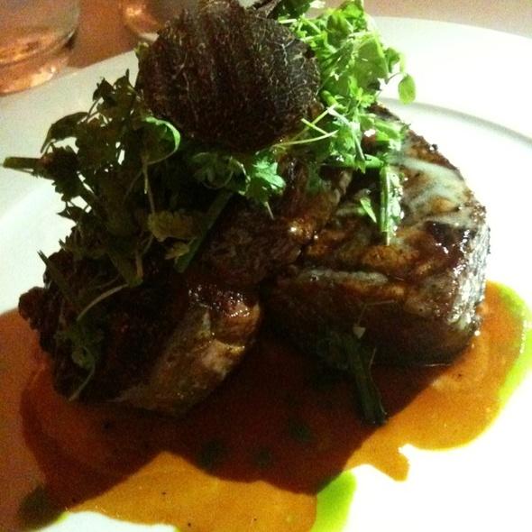 Dry aged bone-in filet @ Alexander's Steakhouse