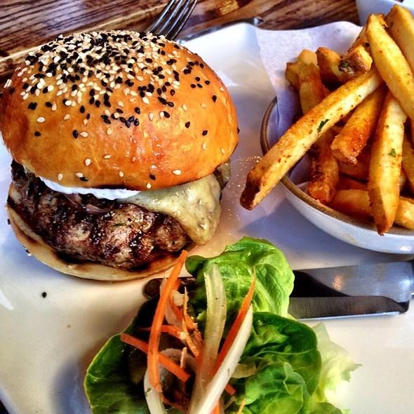 Lamb Burger - Sens Restaurant, San Francisco, CA