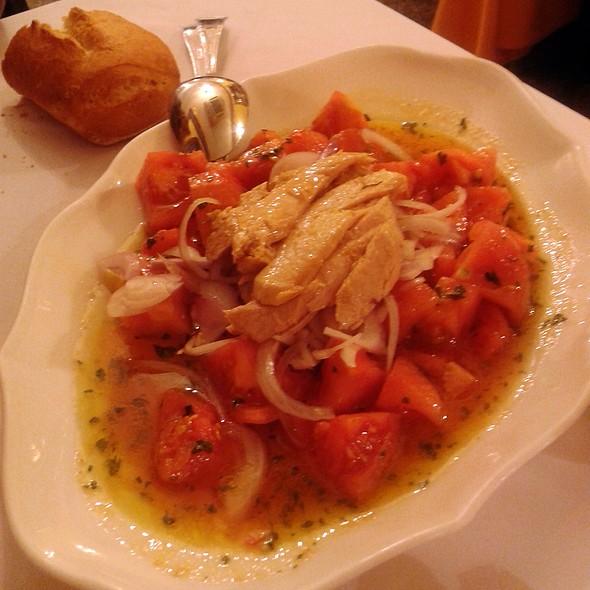 Tomato and tuna belly salad @ Cazorla