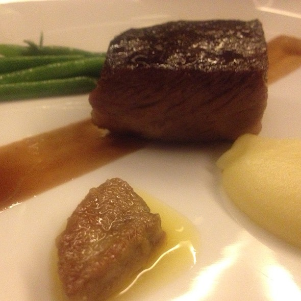 24 Hour Steak Foie Gras Haricot Verts