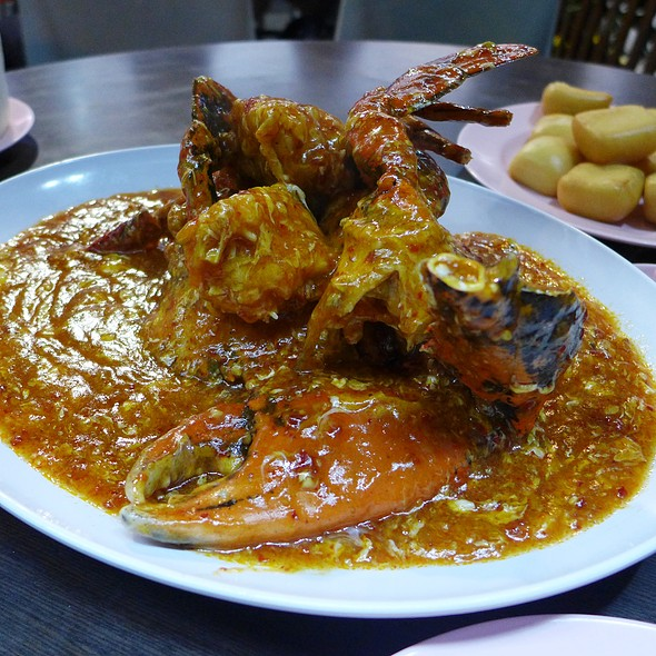 Chilli Crab @ Mellben Seafood