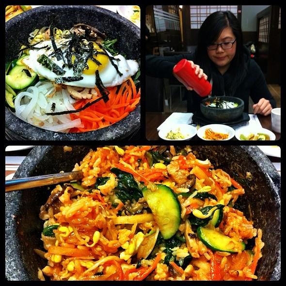 Chicken Dolsot Bibimbap @ Nak Won