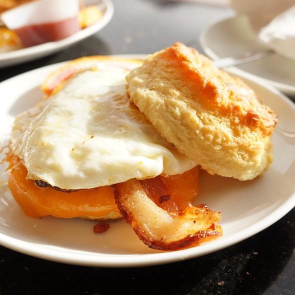 Breakfast Biscuit Sandwich @ Emma's Country Kitchen