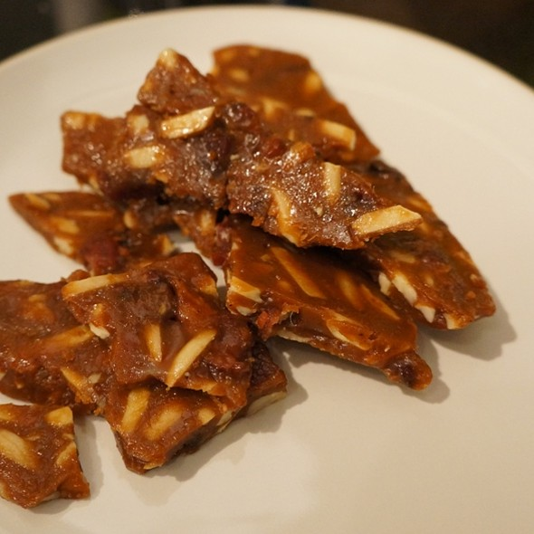 Bacon and Almond Brittle @ Emma's Country Kitchen