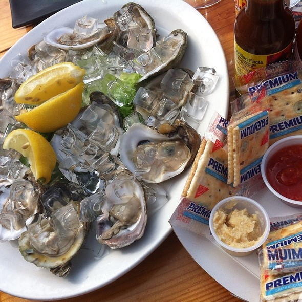 Oysters @ Sparky's Landing