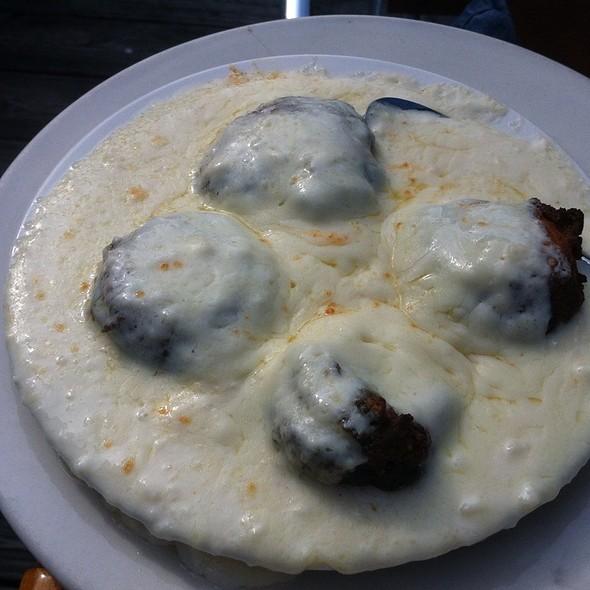 crab stuffed mushrooms @ Sparky's Landing