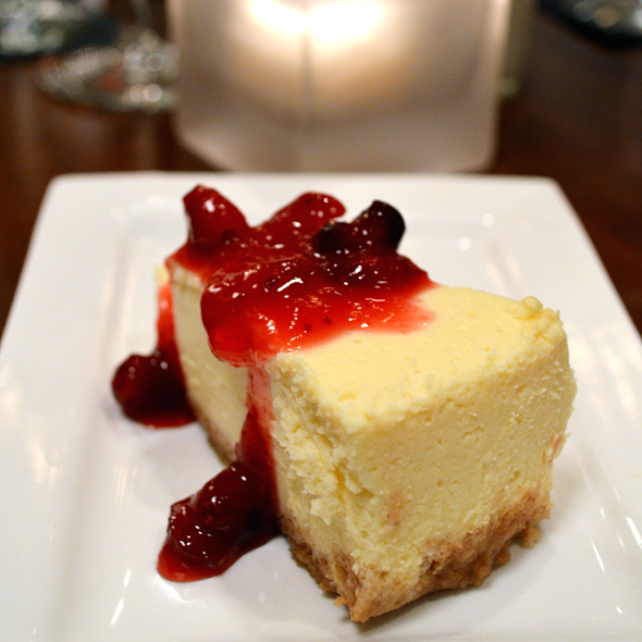Cheesecake - J Bistro Downtown, Sandusky, OH