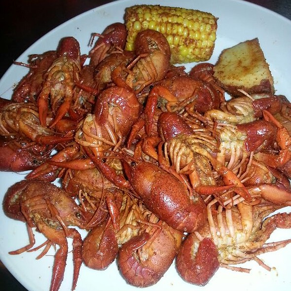 Cajun boiled crawfish