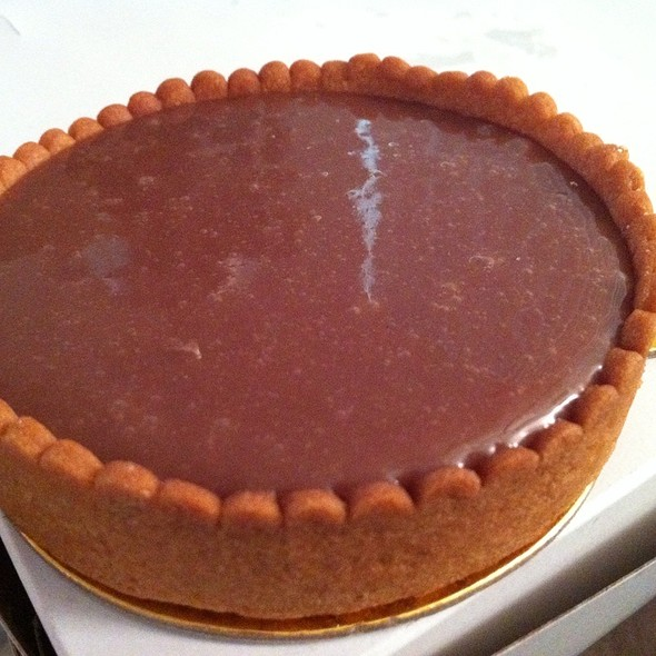 Chocolate Tart @ My French Cafe