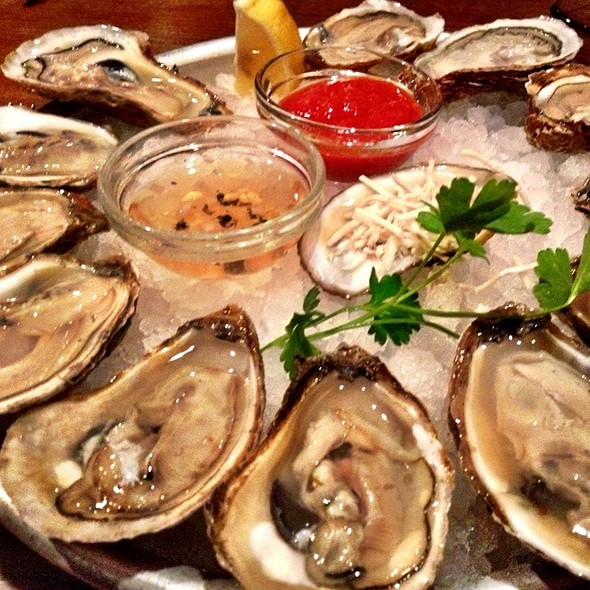 Blue Point Oysters - Harry's Savoy Grill, Wilmington, DE
