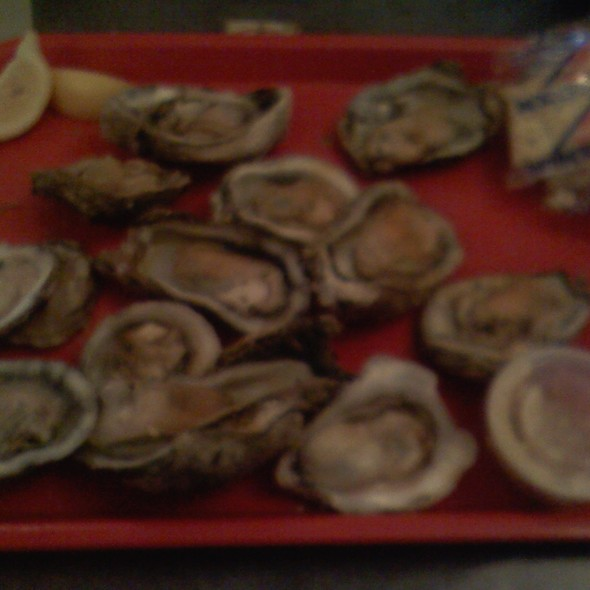 Steamed Oysters @ Apalachicola Seafood Grill & Steaks