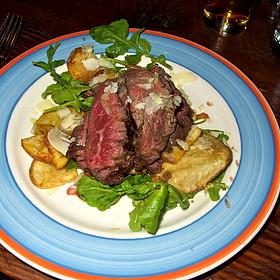 Wood-grilled Hanger Steak