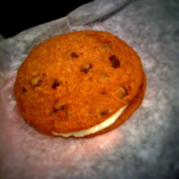 Chocolate Chip Cookiewich @ Wichcraft
