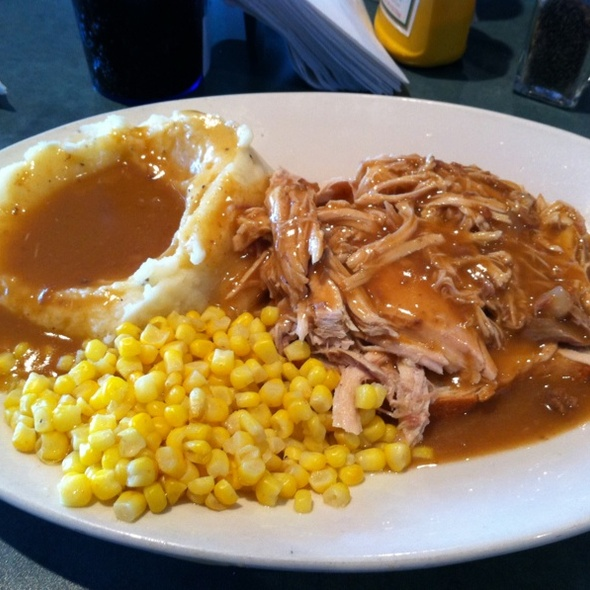 Open Face Turkey Sandwich @ Middleton Sport Bowl LLC