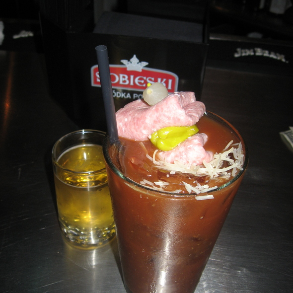 Road Rash Bloody Mary @ Twisted Spoke