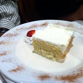 Tres Leche Cake - Fogo de Chao Brazilian Steakhouse - Orlando, Orlando, FL