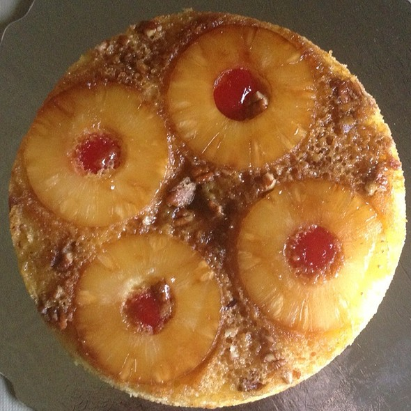 pineapple upside-down cake @ Home