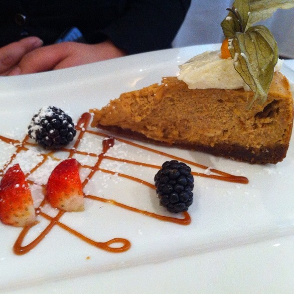 Pumpkin Cheesecake - Creme Brasserie, Toronto, ON