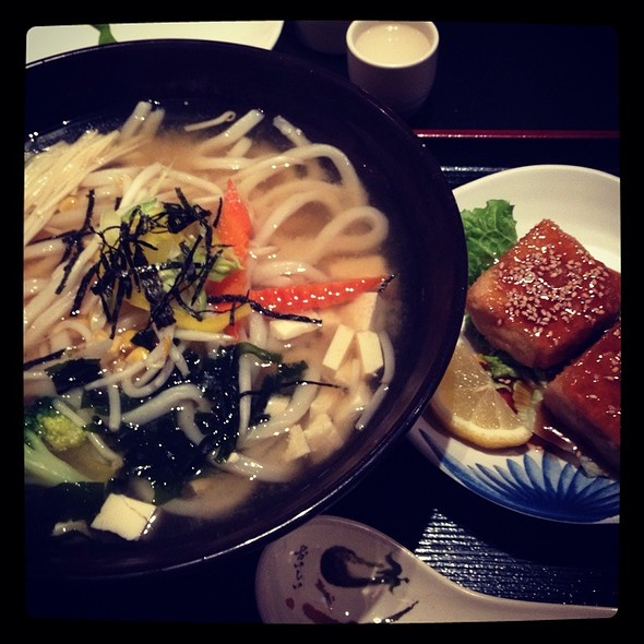 Fresh Made Udon With Miso Broth @ Kaka Udon Kitchen