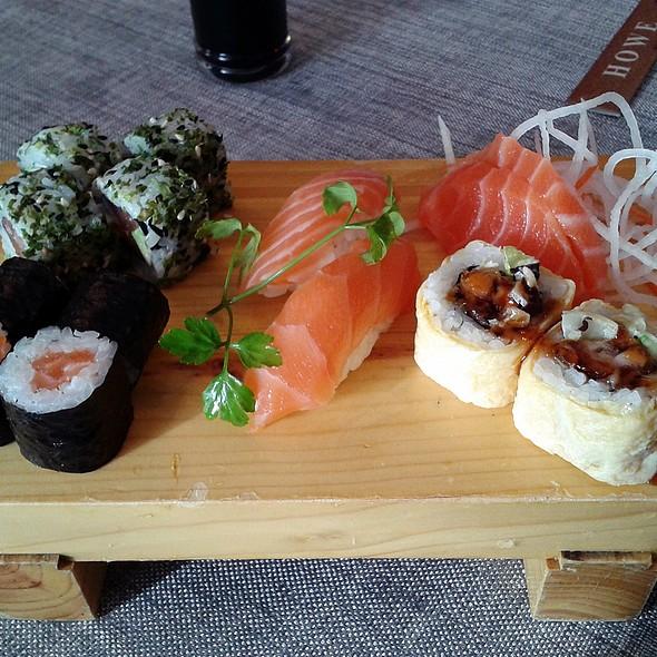 Assorted Maki, Sushi & Sashimi  @ Howe Restaurant
