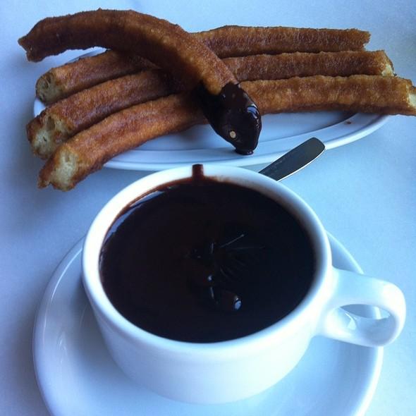 Churros And Chocolate @ Chocolatería Valor