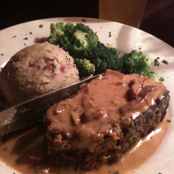 Grilled Meatloaf @ Top
