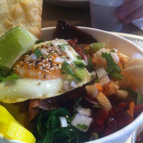 Vegetarian Mexican Bibimbap @ Scania Bar