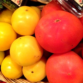 Red & Yellow Tomatoes - Michael's On East, Sarasota, FL