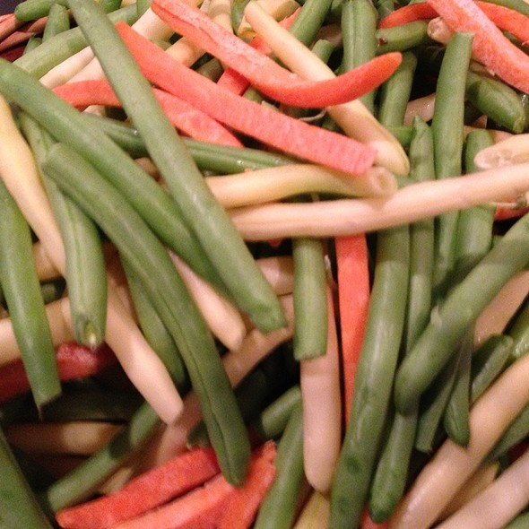 Green & Yellow Beans With Carrots - Michael's On East, Sarasota, FL