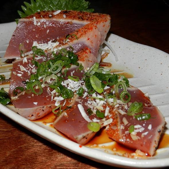 Sesame Parmesan Tuna